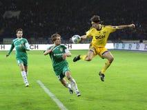 matchfotboll Royaltyfria Foton