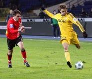 matchfotboll Fotografering för Bildbyråer