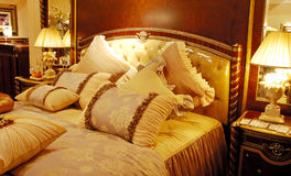 Matching antique furniture Stock Image