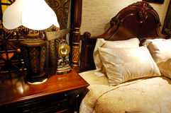 Matching antique furniture. A part of matching antique furniture in a luxury room stock image