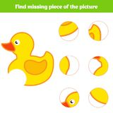 Matching children educational game. Match insects parts. Find missing puzzle. Activity for pre school years kids Stock Photo