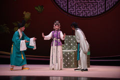 "The matchmaker and domestics and monk-Kunqu Opera ""the West Chamber"" Royalty Free Stock Images"