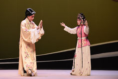 "Matchmaking-Kunqu Opera ""the West Chamber"". In May 17, 2015, the Suzhou Kunqu opera classic Kunqu Opera Xixiangji staged in nanchang.The world's intangible Stock Photo"