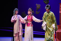 "Matchmaking-Kunqu Opera ""the West Chamber"". In May 17, 2015, the Suzhou Kunqu opera classic Kunqu Opera Xixiangji staged in nanchang.The world's intangible Stock Images"