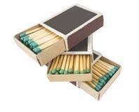 Matchs dans la boîte Photographie stock