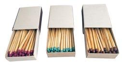 Matchs dans la boîte Photo stock