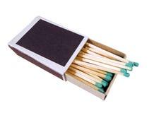Matchs dans la boîte Image stock