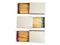 Matchs dans la boîte Image libre de droits