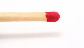 Matchstick; ¡comencemos un fuego! Imágenes de archivo libres de regalías