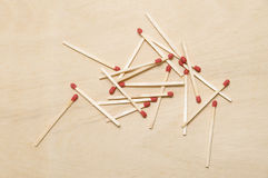 The matchstick Stock Photo