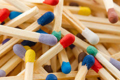Matchstick Royalty Free Stock Photos