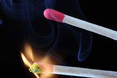 Matchstick Royalty Free Stock Photo