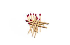 Matchstick. Group of matchstick use to fire vector illustration