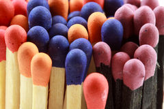 Matchstick Heads Royalty Free Stock Photography
