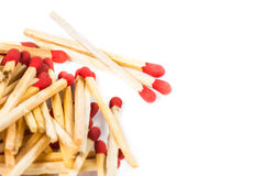 Matchstick isolated Royalty Free Stock Image