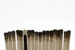 Matchsticks Royalty Free Stock Photos