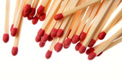 Matchsticks Stock Image