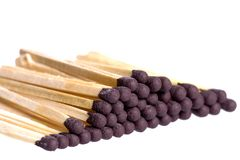 matchsticks royaltyfria foton