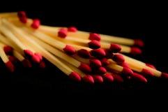 matchsticks stock foto's