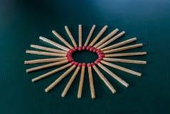 matchsticks Stockfoto