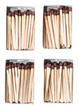 Matchsticks in a box Royalty Free Stock Images