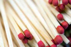 Matchsticks Closeup Stock Photos