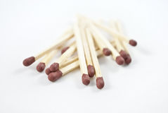 Matchsticks Royalty Free Stock Photography