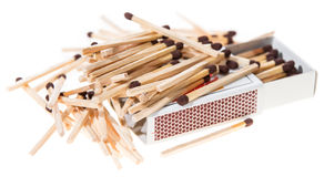 Matchsticks Royalty Free Stock Photo