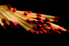 Matchsticks Stock Photos