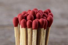Matchsticks med retro tappningstil Arkivbilder