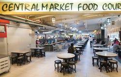 Matdomstol för central marknad, Kuala Lumpur Royaltyfri Bild