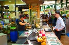 Matdomstol Singapore Arkivbilder