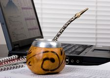 Mate break Royalty Free Stock Photo