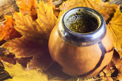 Mate gourd close up Royalty Free Stock Photography