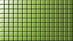 Mate green small wall tiles background Royalty Free Stock Photos