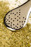 Mate herb with drinking straw Royalty Free Stock Photos