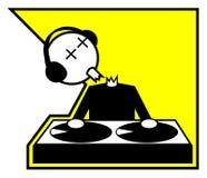Mate o DJ Imagens de Stock Royalty Free