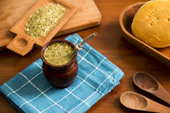 Mate, is a traditional South American infused drink Royalty Free Stock Images