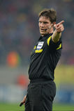 Matej Jug, football referee Stock Photo