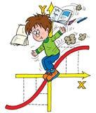 Matemática ilustração royalty free