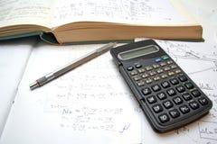 Matemática Foto de Stock