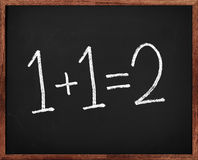 Matemática elementar Fotos de Stock Royalty Free
