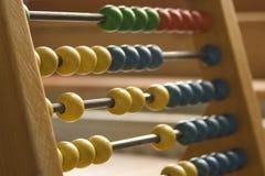 Matemáticas de la escuela vieja Imagenes de archivo