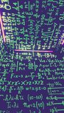Matemáticas en el camino Foto de archivo libre de regalías