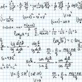 Matemáticas inconsútil Fotos de archivo libres de regalías