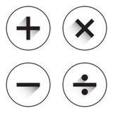 Matemático básico ilustração royalty free