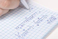 Matematica Immagine Stock Libera da Diritti