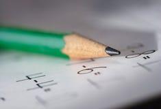 Matematica Fotografie Stock Libere da Diritti