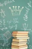 Matematik är drottningen av vetenskaper arkivbild
