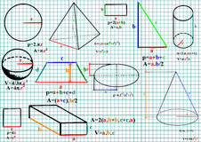 matematik Arkivbild
